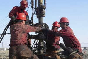 Oil Field Workers